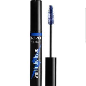 NYX Worth the Hype Blue Mascara